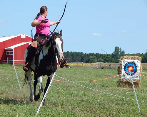 horseback archery events